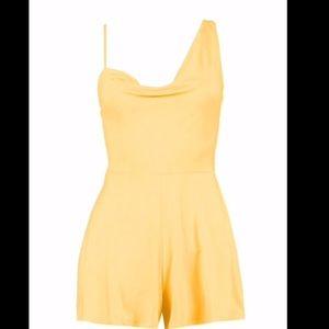 Boohoo Dresses - Yellow Romper